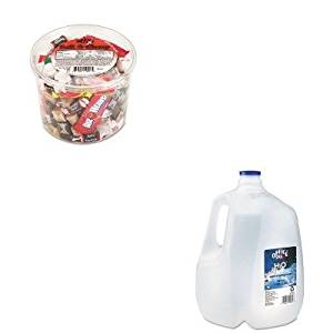 KITOFX00013OFX00032 - Value Kit - Office Snax Bottled Spring Water (OFX00032) and Office Snax Soft amp;amp; Chewy Mix (OFX00013)