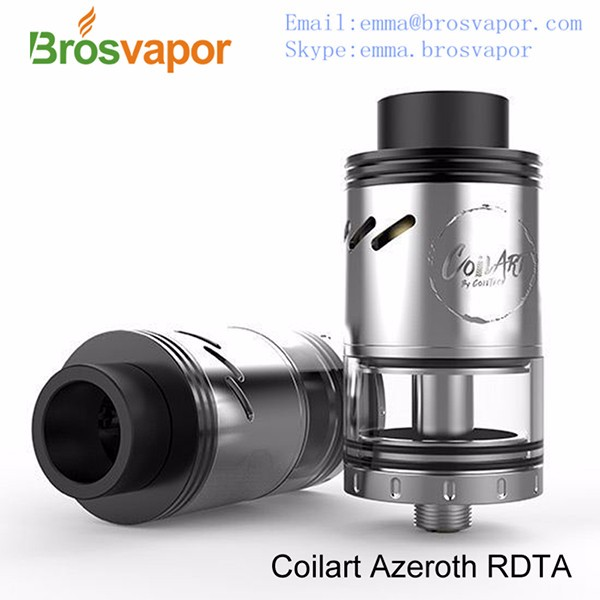 Original CoilART Rebuildable Dripping Tank Azeroth RDTA 4ml Capacity with Adjustable Airflow Aromamizer Rdta