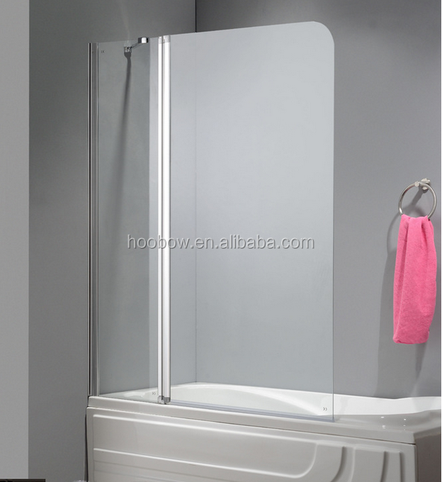Simple Walk In Tub Shower Combo One Glass One Pivot Glass Bathroom Shower Enclosure