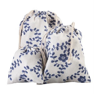 3fa055fca1d6a promotion reusable foldable pouch rope wholesale cheap custom small fabric  shopping string canvas cotton tote drawstring