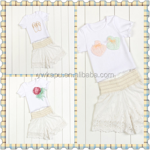 Hot selling branded kids clothes, kids clothes display, kids clothes with flower