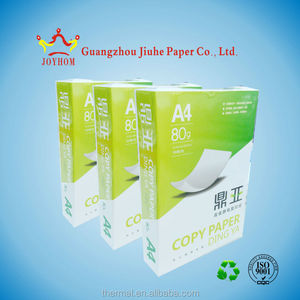 Popular and cheap white a4 copy paper 80 gsm factory