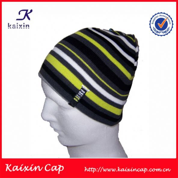 OEM and ODM Hot selling wholesale men's knitted beanie hat