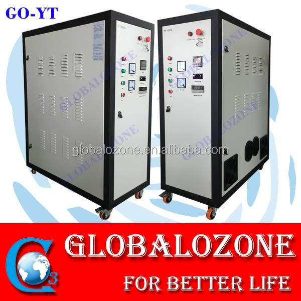 High ozone output industrial sterilization ozonator for waste water