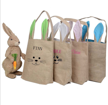 Wholesale Monogram Easter bunny basket