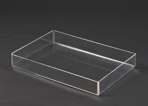 custom design acrylic bar serving tray