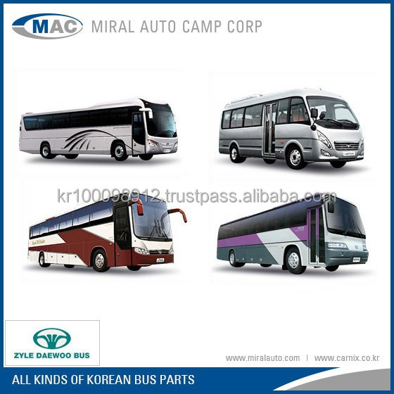 Spare Parts For Korean Daewoo Buses - Buy Spare Parts For Bus,Daewoo