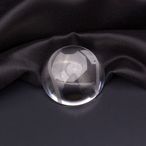 half ball crystal glass paperweight crystal dome paperweight souvenir /buiness gift
