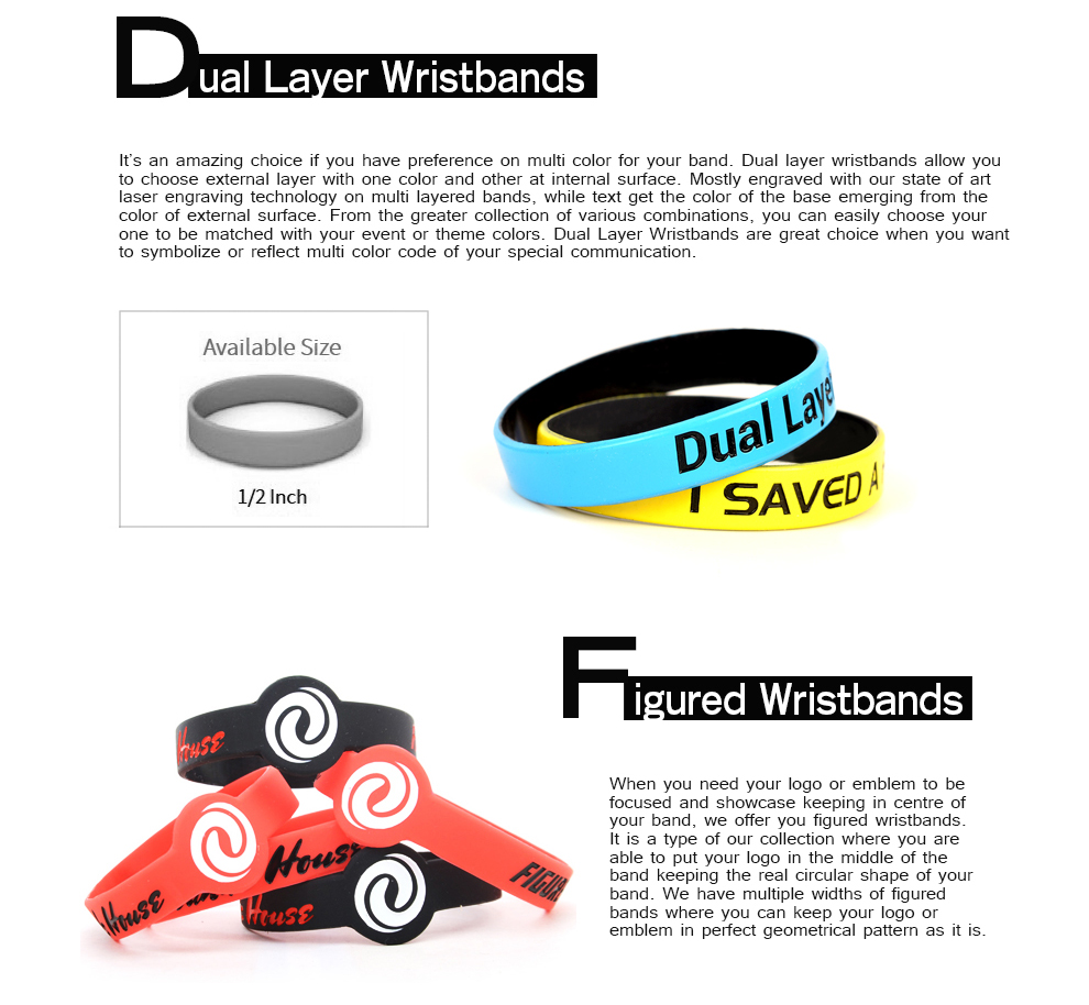 bands bracelets customized wrist band custom cancer