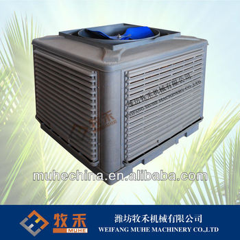 Evaporative air cooler with CE