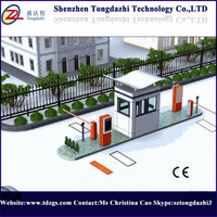 Parking Entrance Automatic Barrier Gate System With Single Bar ...