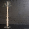 Custom 3D Clear Acrylic Floor standing Lamp shade PMMA Floor based Crystal Lamp Art Home Deco