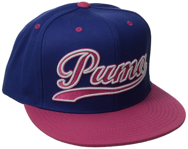 bc4687a3047 Get Quotations · PUMA Men s Script City Snapback Hat