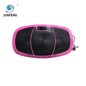 Body shaper crazy fit massage fitness exercise machines 3d vibration plate