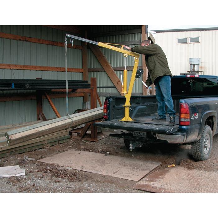 1000 Lb Pickup Truck Hydraulic Pwc Dock Jib Engine Hoist
