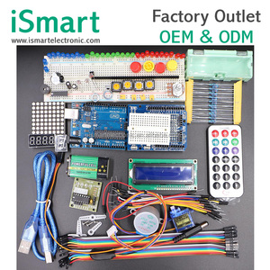 Electronic kits diy production UNO R3 Upgraded version of Starter Kit Learning Suite LCD 1602 kit with Retail Box