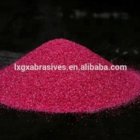 China hot selling ruby fused alumina powder for abrasive blasting