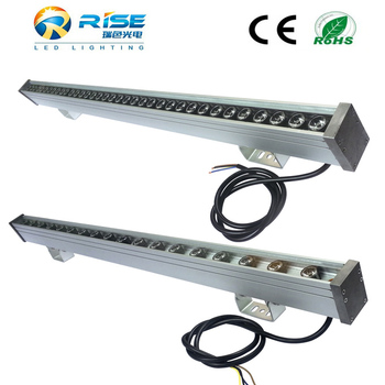 Long Led Wall Lighting Fixtures Rgb 1000mm 24 Led Wall Washer ...