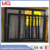 Powder coated aluminum folding door design