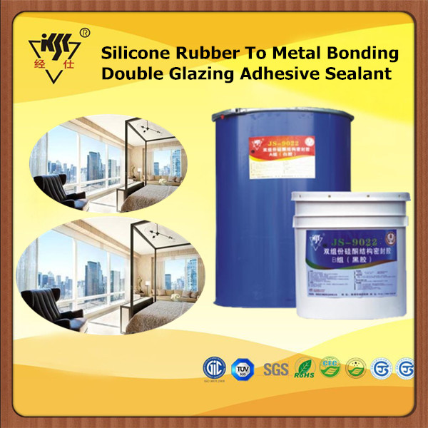 Silicone Rubber To Metal Bonding Double Glazing Adhesive Sealant