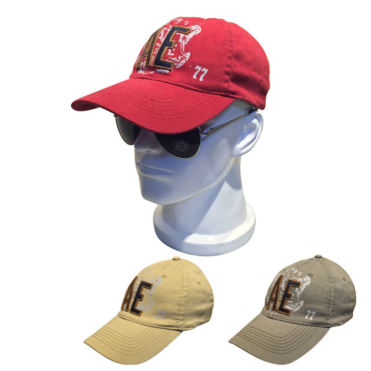 02a50cc5707 2015 New Brand Washed Cotton Baseball Caps American Style Flex Fit Golf Cap  Summer Gorras Men
