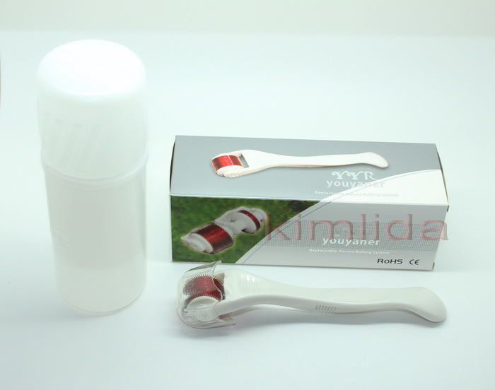 Changeable roller head MT MRS ZGTS derma roller micro needling fda approved