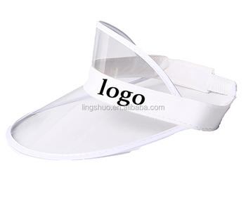 Pvc Women Men Shade Cap Empty Top Sunscreen Hat Sun Visor Caps - Buy ... 6897c5155da