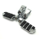 "Footrest Motorcycles Short highway Foot Pegs For Harley Electra Road King Street Glide 1-1/4"" Bars"