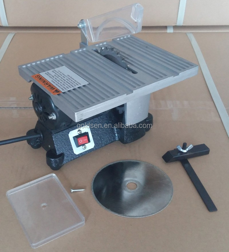 Tolhit 100mm 4 90w Jewelers Small Bench Circular Saw Hobby Mini