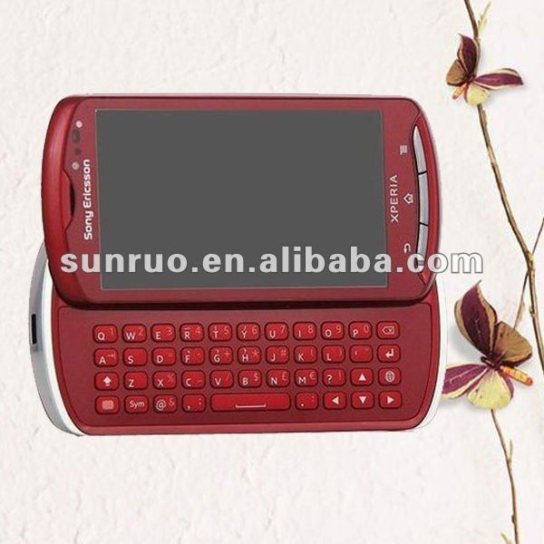 Full body mobile skin sticker for Sony Ericsson MK16i with high quality