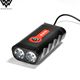 Logo Custom IP65 Led Usb Rechargeable Bike Front Light Led Bicycle Light