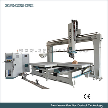 XYZ-CAM, P5 Five Axis CNC Router Wood Cutting Machine 1224 Model