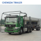SINOTRUK HOWO Wood Timber Log Transport Trailer Truck