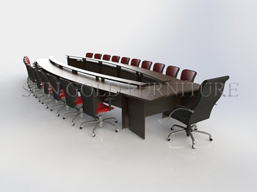 U Shaped Conference Tables Wood Meeting Room Training
