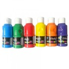 120ML non-toxic acrylic paint color for ceramic 6 color one set