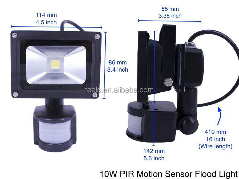 Waterproof Outdoor 50 Watt 12 Volt Led Flood Light With Motion ...