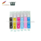 (RCE791-796) refillable refill ink cartridge for Epson T0791-T0796 79 PX810FW/PX820FWD/PX830FWD Artisan 1430 bk/c/m/y/lc/lm