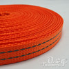 Ribbon Factory Outlet pet fluorescent-dyed nylon with imitation plain reflective tape Webbing