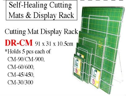 Cutting Mats Display Rack
