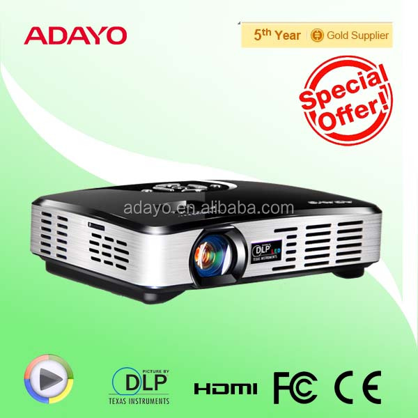 optoma dlp projector led mini projector for home theatre