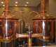 new stainless steel and copper cladding beer brewing equipment