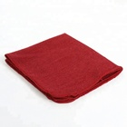 Auto Mechanic Detailing Cotton industrial cleaning cloth Shop red Towel Rags
