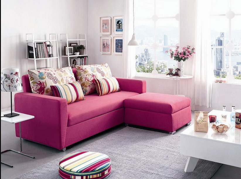 Elegant Fabric Sofa Bed Folding Sofa Cum Bed Living Room Furniture ...