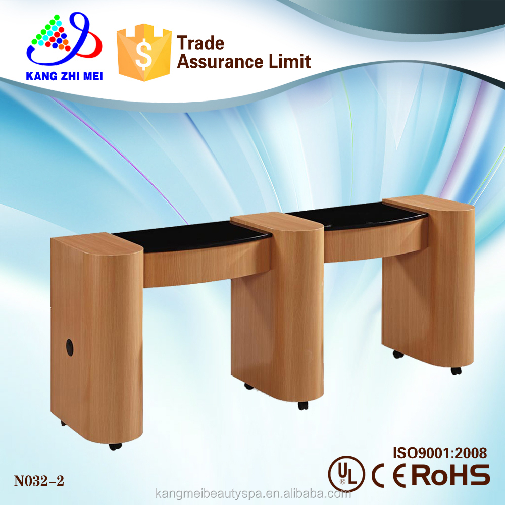 Double Nail Table/nail Dryer Station/portable Manicure Table Nail ...