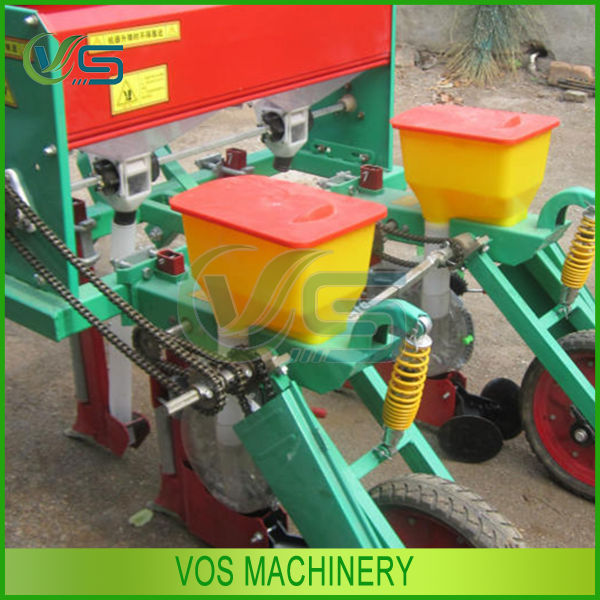 Factory direct 2 row corn planter machinery/Advanced 2 row corn planter with rotary tiller