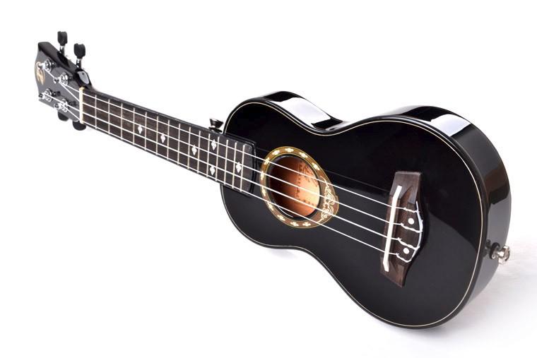 Wholesale UK-LA3-21 21 inch ukulele, thin body soprano, ukulele ...