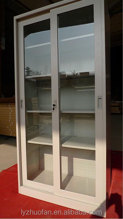 glass door shelf