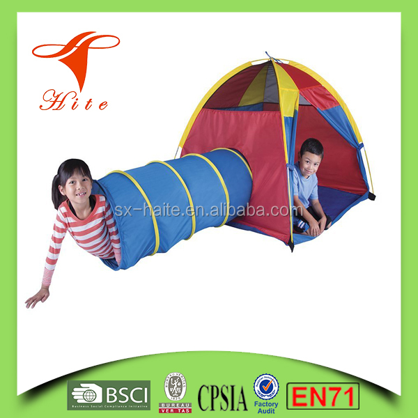Discovery Kids Play Tent Tunnel Children Play House Tents