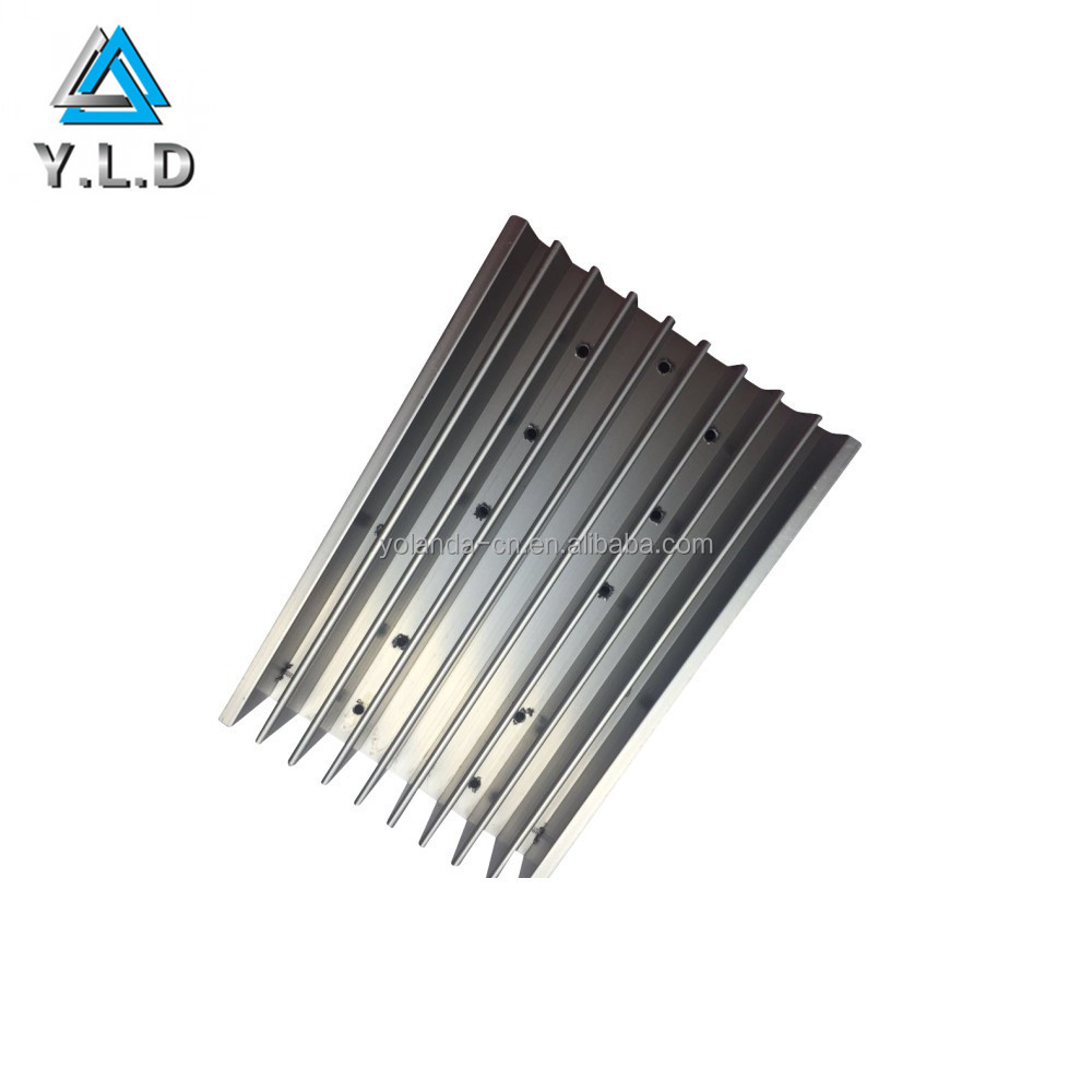 LED Extruded Aluminum Heat Sink Profile for Water Cooled