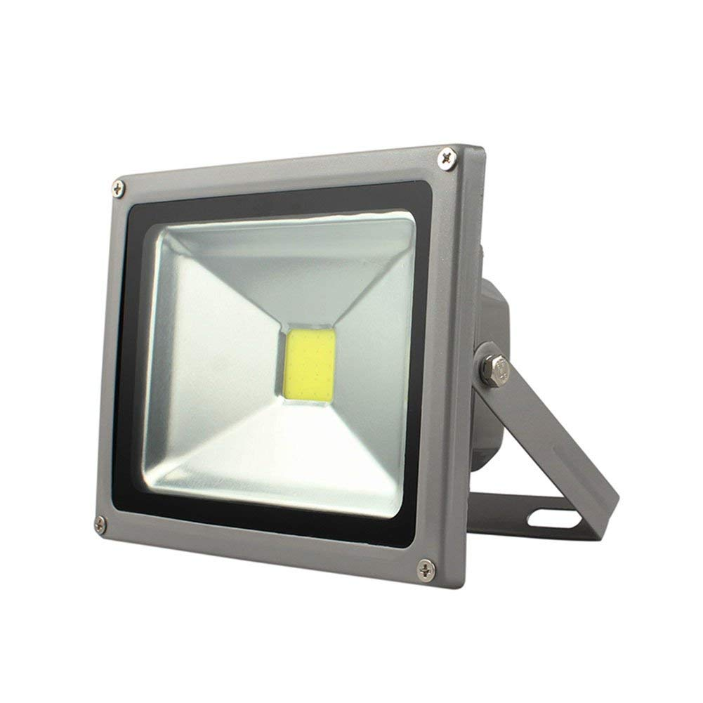 LED Flood Light, Efuntuck LED Refletor 85-265V Outdoor Landscape Lighting 10W 20W 30W 50W 100W Floodlight COB Spotlight for Garden, Patio, Buildings (Warm White, 30W)
